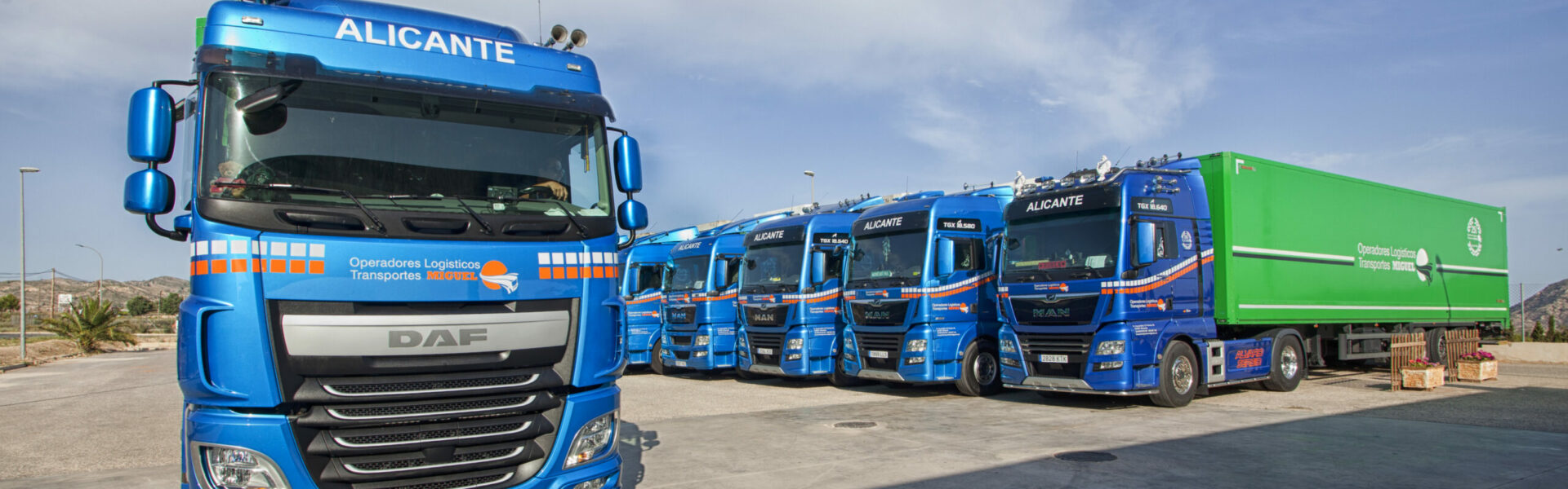 Transportes Miguel Sanchez en Alicante